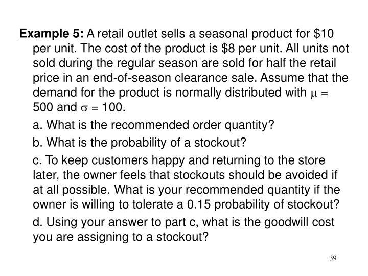 Example 5: