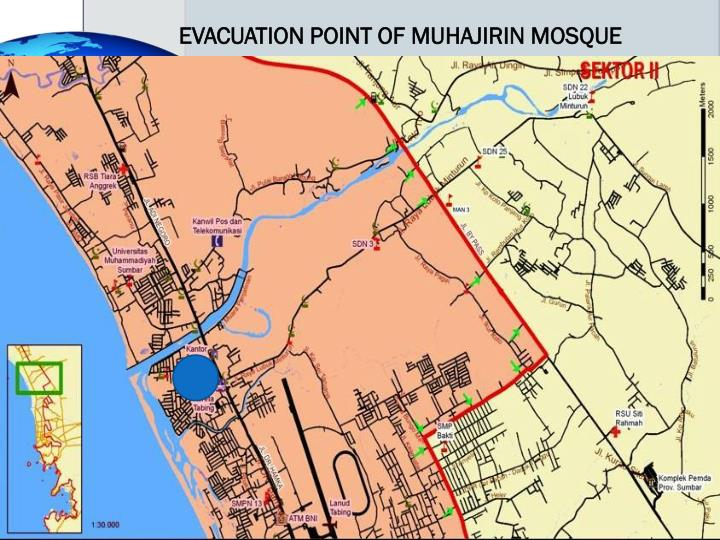 EVACUATION POINT OF MUHAJIRIN MOSQUE