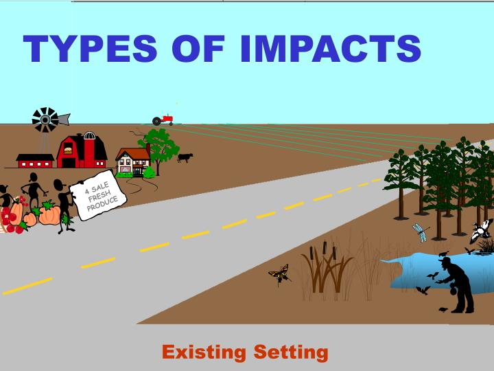 TYPES OF IMPACTS