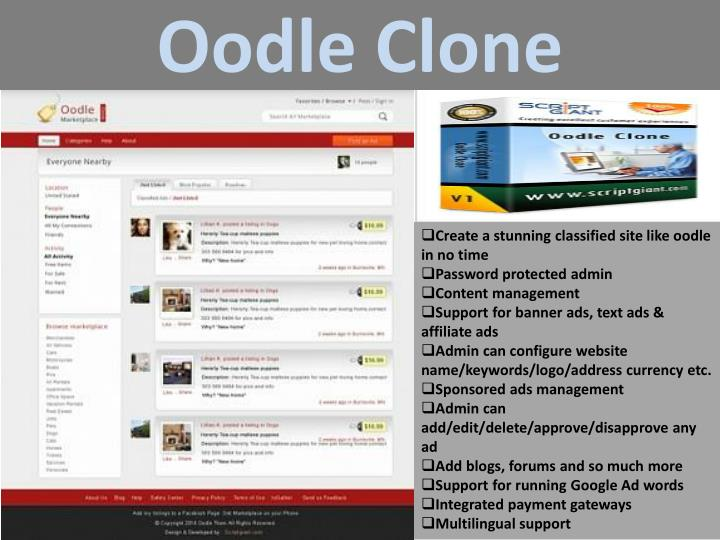 Oodle Clone