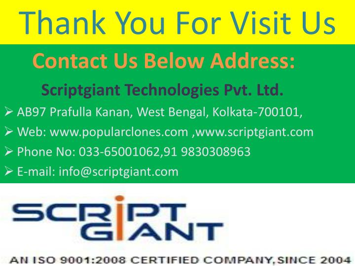 Thank You For Visit Us