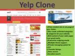 yelp clone