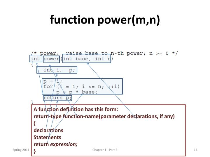 function power(