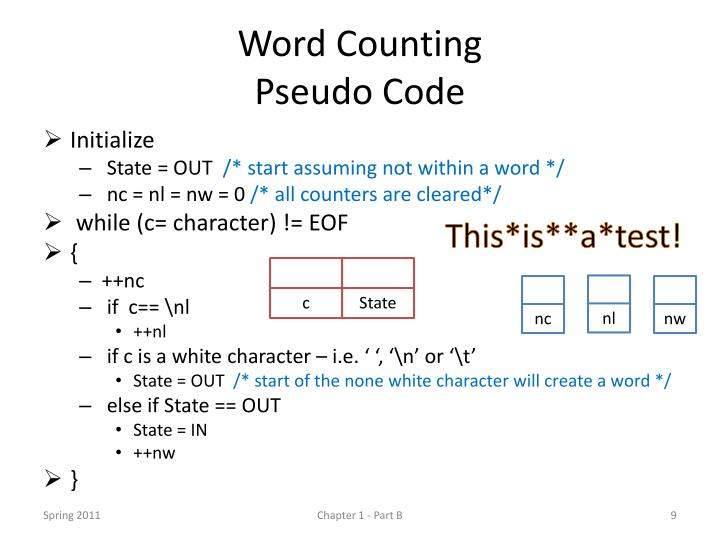 Word Counting