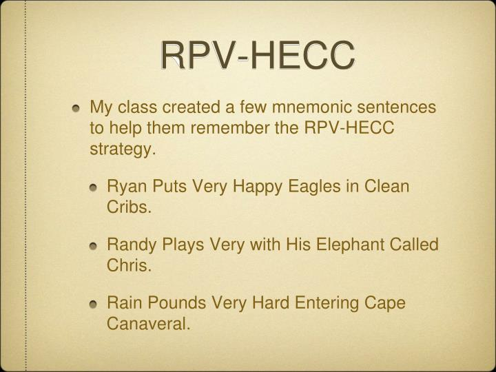 RPV-HECC