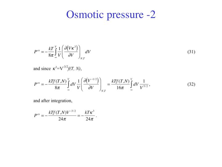 hypothesis for simulating osmotic pressure Answer to simulating osmotic pressure1 explain the effect that increasing the na+cl‑ concentration had on osmotic pressure and.
