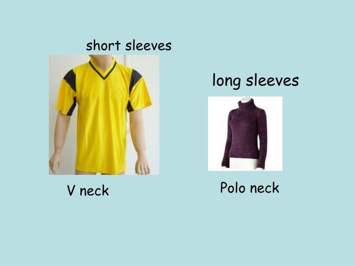 short sleeves