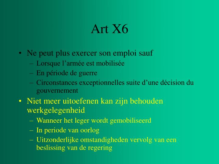Art X6