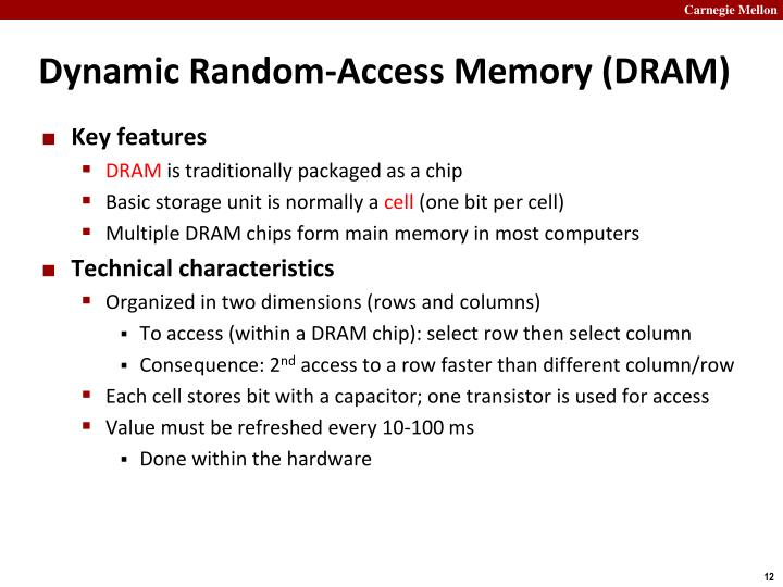 Dynamic Random-Access Memory (DRAM)