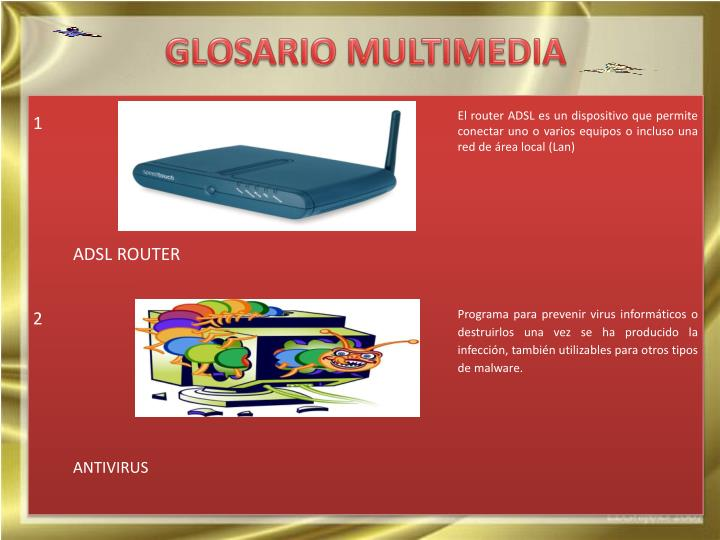 Glosario multimedia