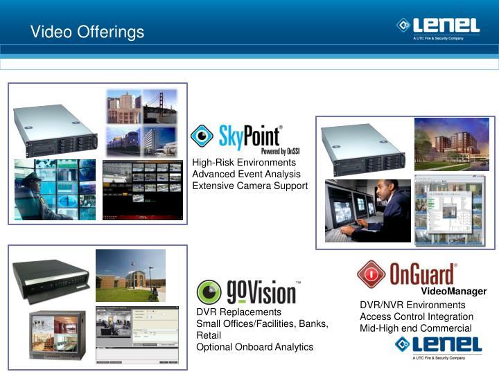 Video Offerings