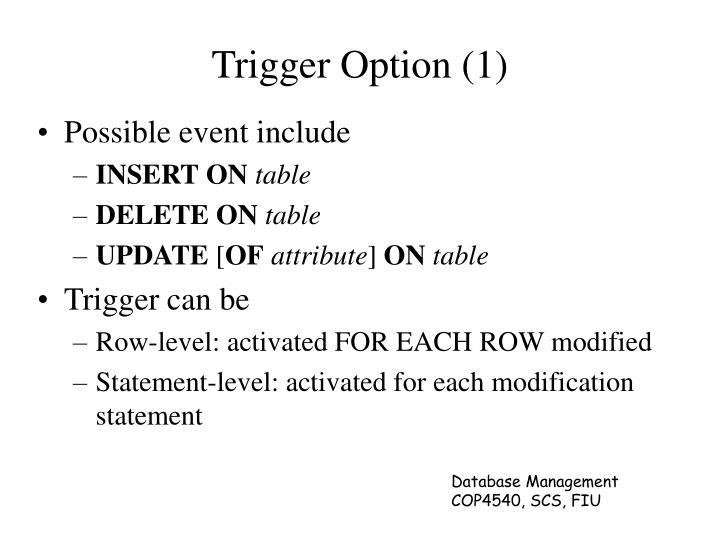 Trigger Option (1)