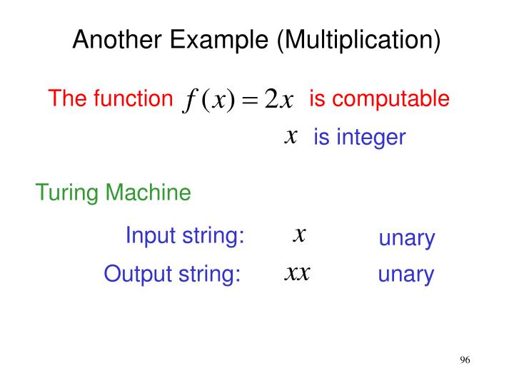 Output string:
