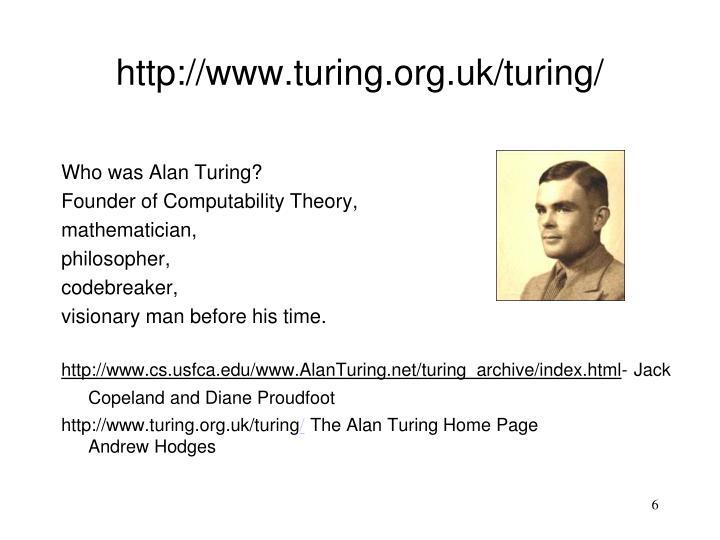 http://www.turing.org.uk/turing/