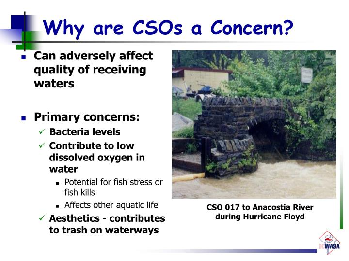 Why are CSOs a Concern?