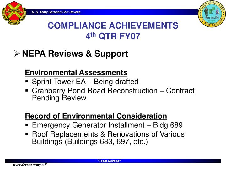 NEPA Reviews & Support