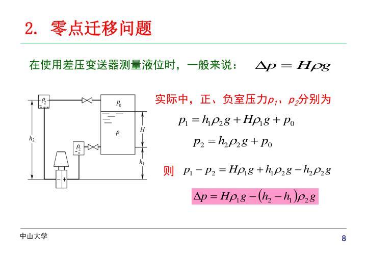 在使用差压变送器测量液位时,一般来说: