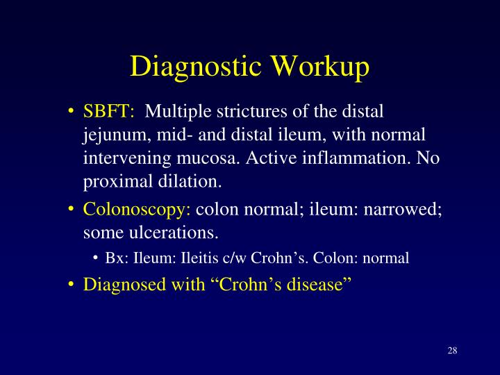 Diagnostic Workup