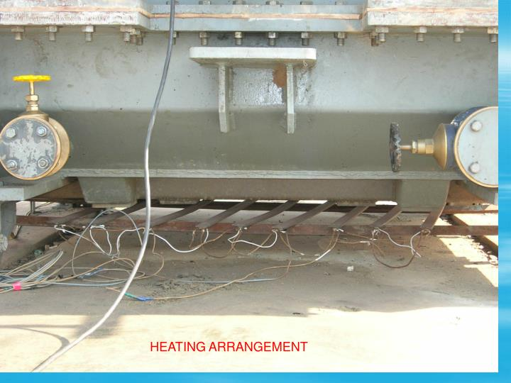 HEATING ARRANGEMENT