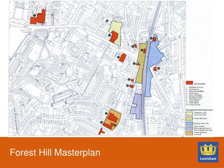Forest Hill Masterplan