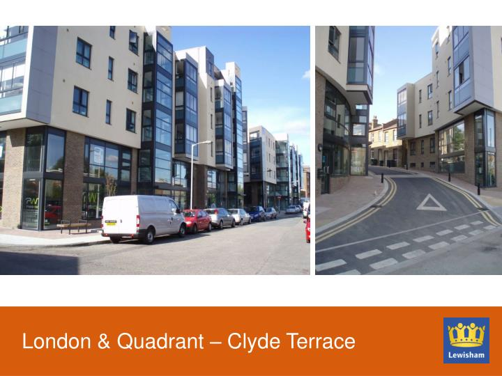 London & Quadrant – Clyde Terrace