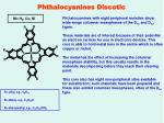 phthalocyanines discotic1