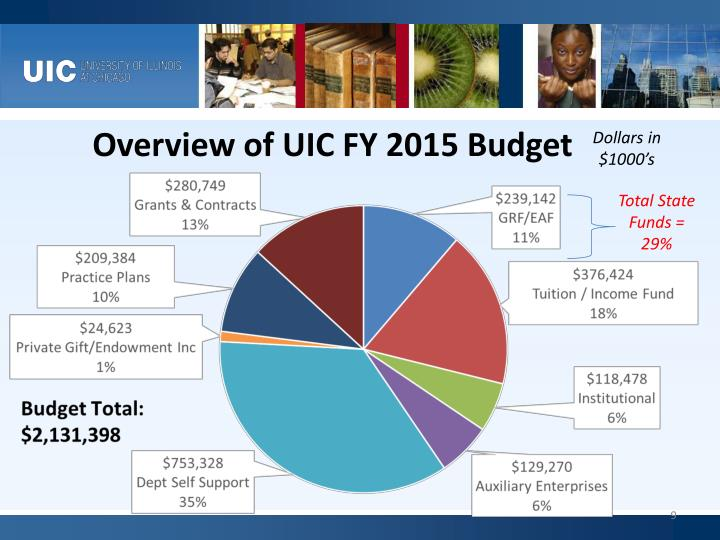 Overview of UIC FY 2015 Budget