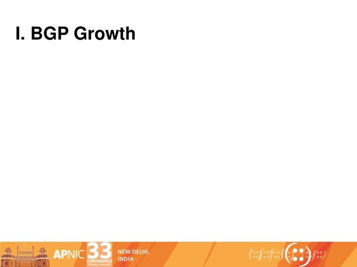I. BGP Growth