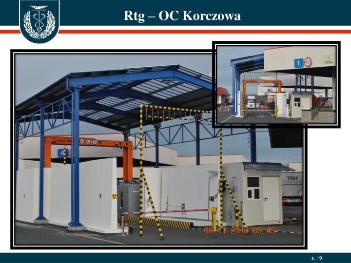 Rtg – OC Korczowa