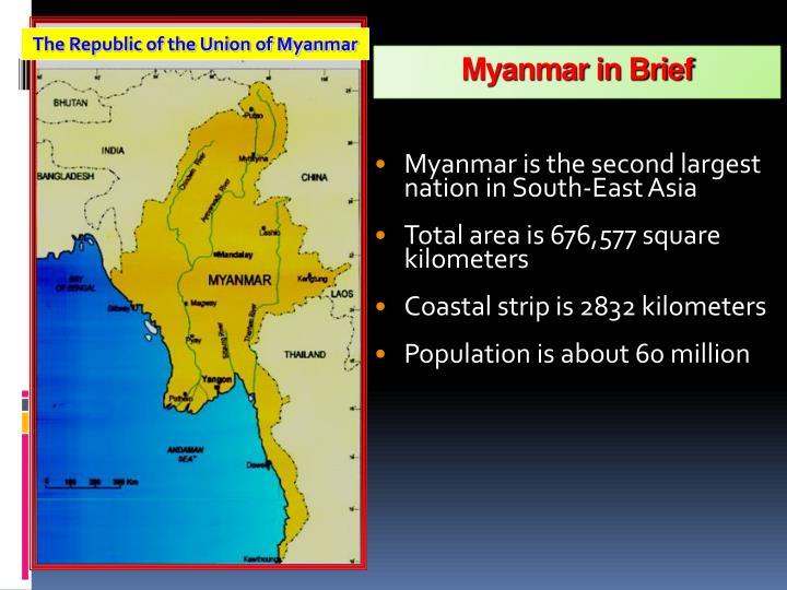 Myanmar in Brief