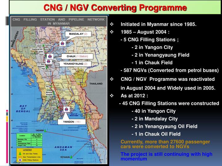 CNG / NGV Converting