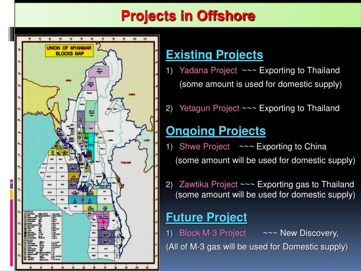 Projects in Offshore