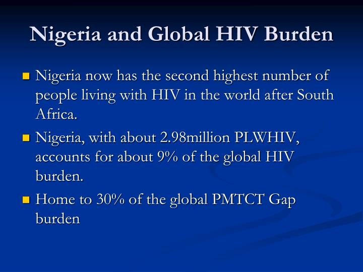 Nigeria and Global HIV Burden