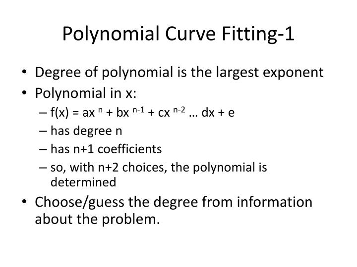 Polynomial Curve Fitting-1