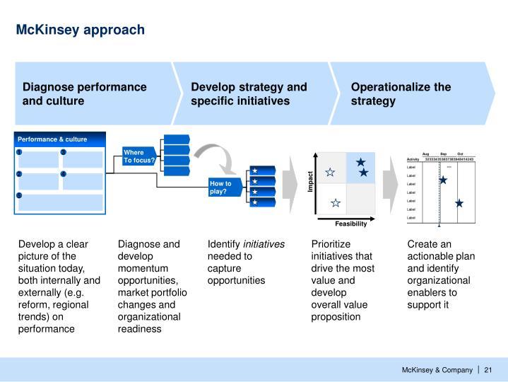 McKinsey approach