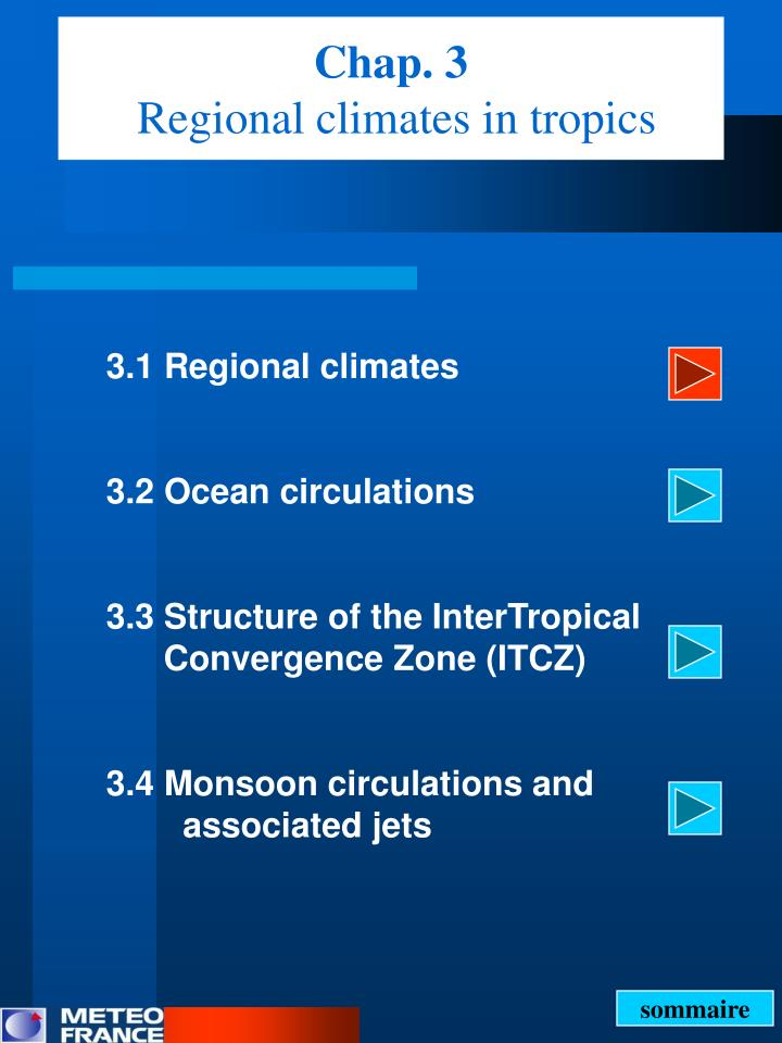 Chap 3 regional climates in tropics