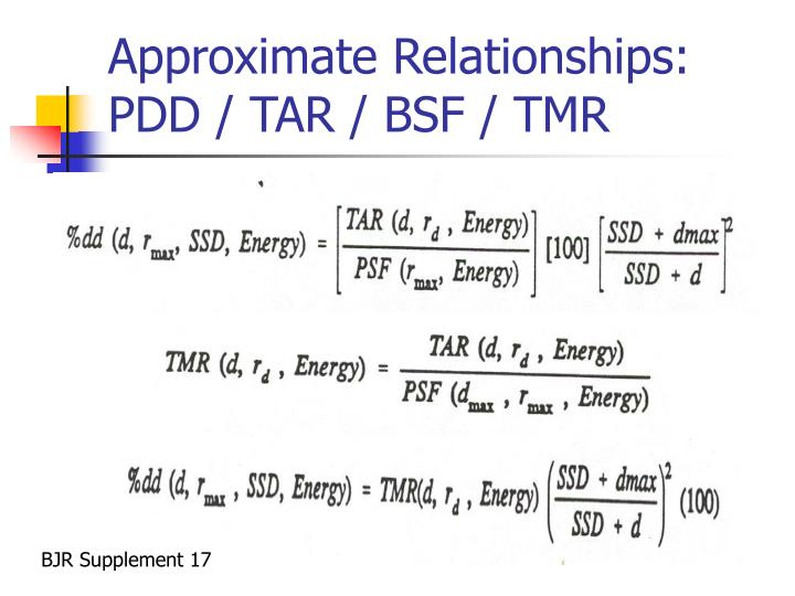 Approximate Relationships: