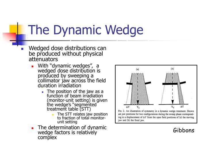 The Dynamic Wedge