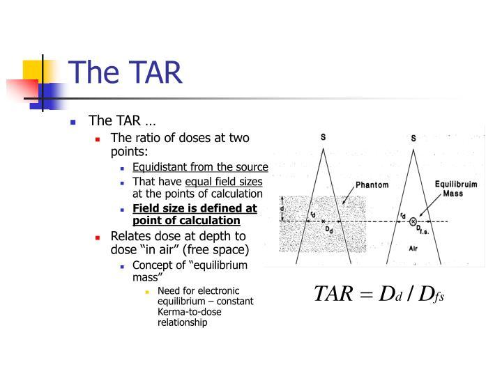 The TAR