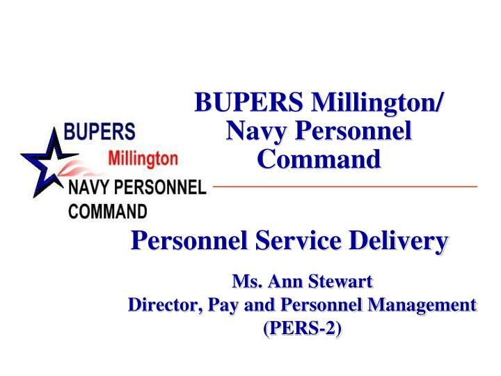Bupers millington navy personnel command