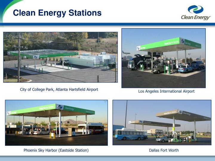Clean Energy Stations