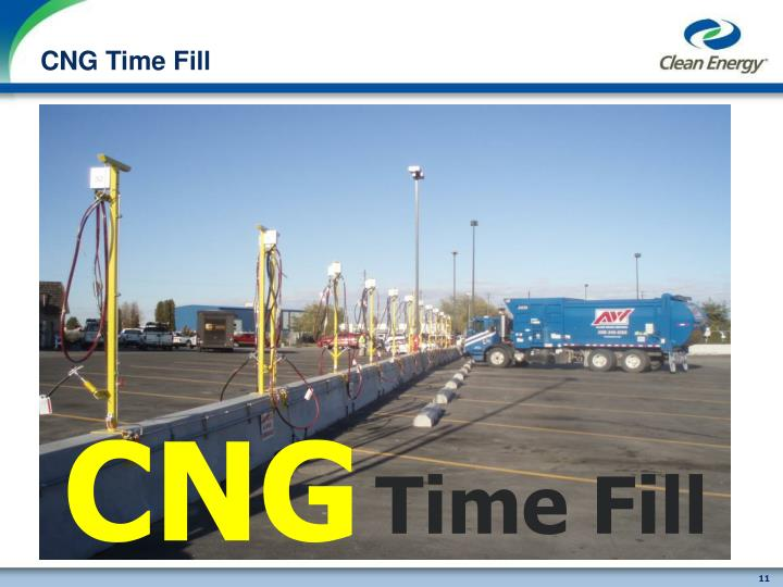 CNG Time Fill