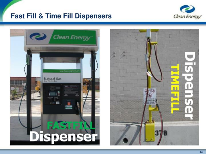 Fast Fill & Time Fill Dispensers