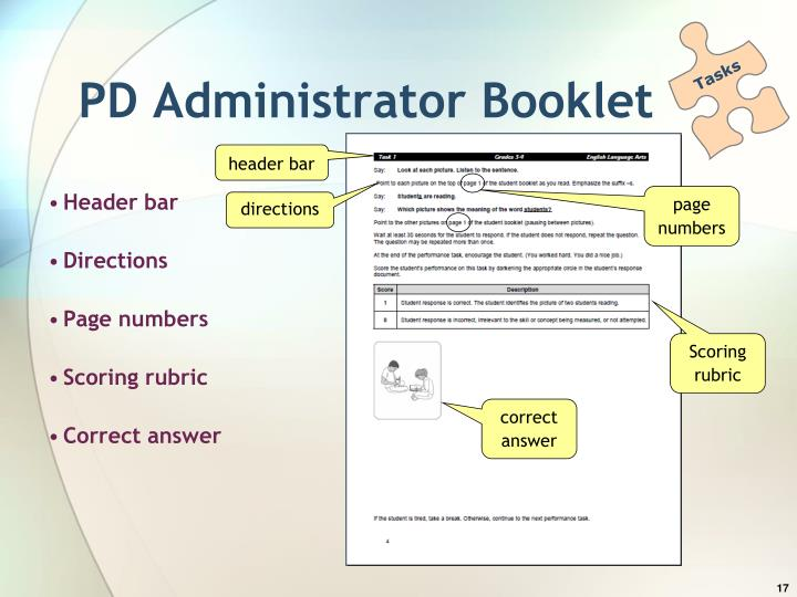 PD Administrator Booklet