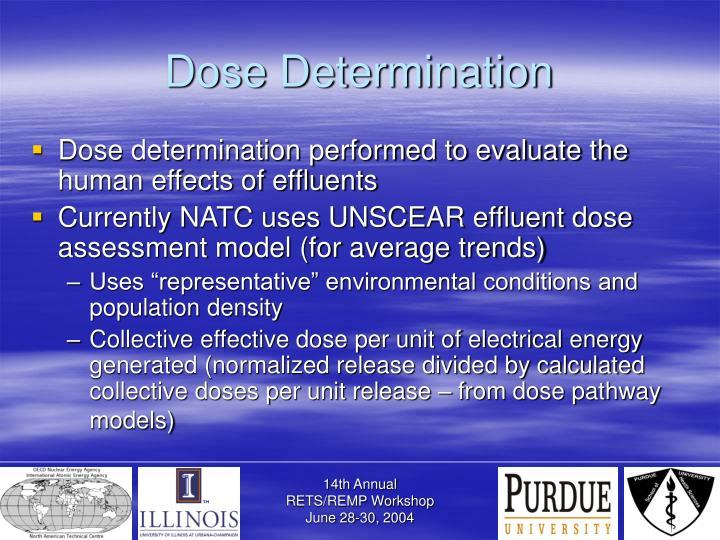 Dose Determination