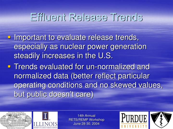 Effluent Release Trends