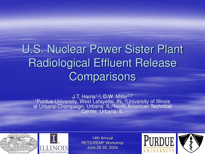 U.S. Nuclear Power Sister Plant Radiological Effluent Release Comparisons