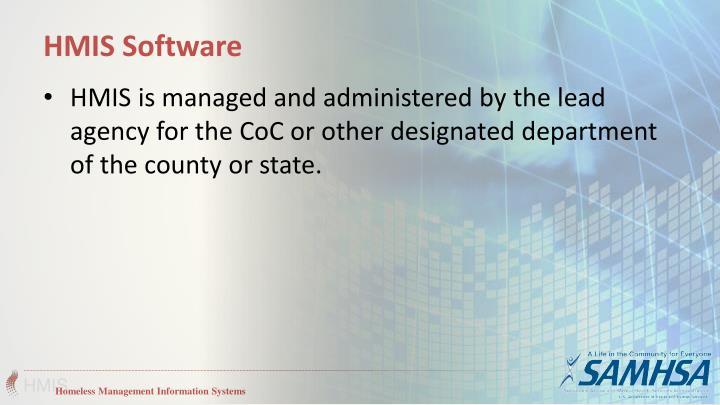 HMIS Software