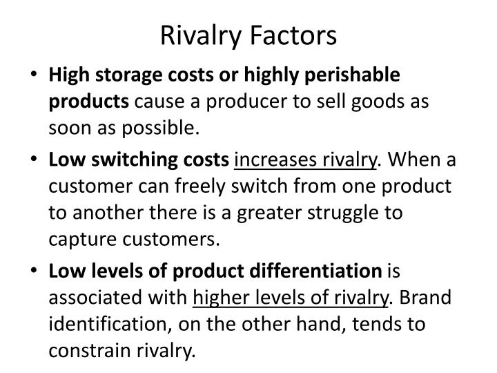 Rivalry Factors