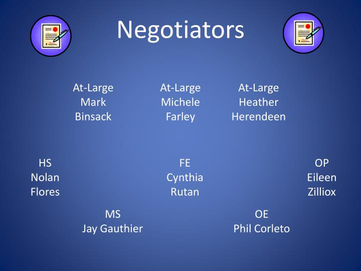 Negotiators